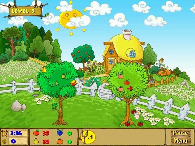 Fruity Garden Game screenshot 1