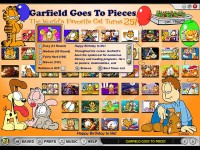 Garfield Goes to Pieces Game screenshot 1