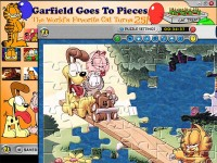 Garfield Goes to Pieces Game screenshot 2