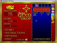 Gem Drop Game screenshot 2