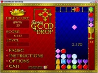 Gem Drop Game screenshot 3