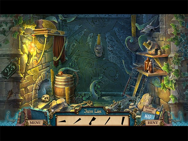 Ghosts of the Past: Bones of Meadows Town Collector's Edition Game screenshot 1