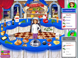Go-Go Gourmet 2: Chef of the Year Game screenshot 3
