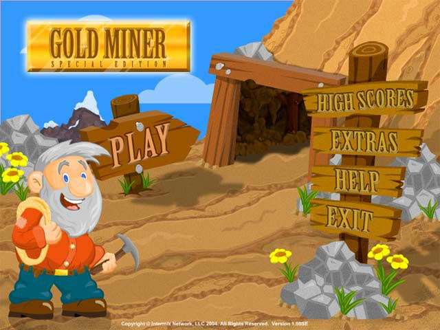 Gold Miner: Special Edition Game screenshot 1
