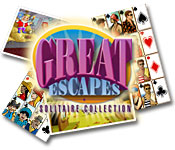Free Great Escapes Solitaire Collection Game