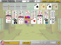 Great Escapes Solitaire Game screenshot 1