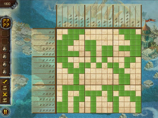Griddlers Legend Of The Pirates Game screenshot 3