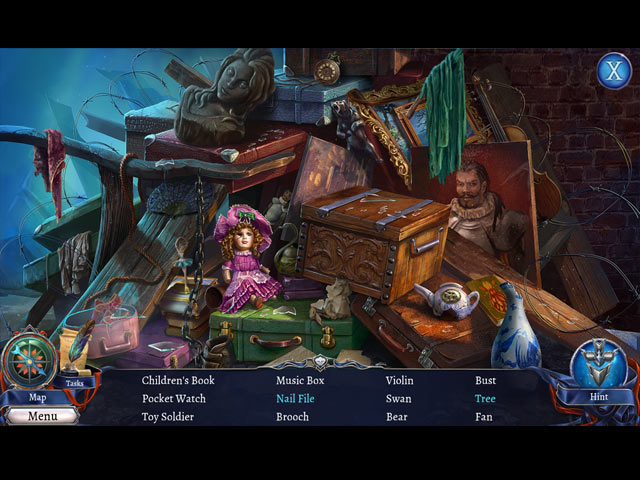 Grim Legends 3: The Dark City Collector's Edition Game screenshot 2