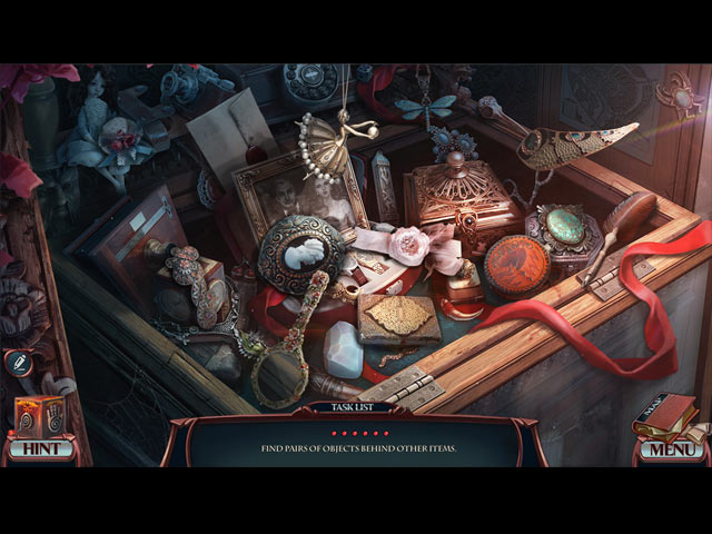 Grim Tales: The White Lady Game screenshot 2