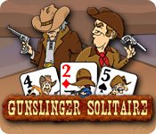 Free Gunslinger Solitaire Game