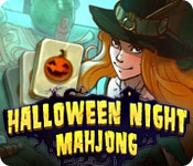 Free Halloween Night Mahjong Game
