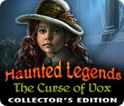 Free Haunted Legends: The Curse of Vox Collector's Edition Game