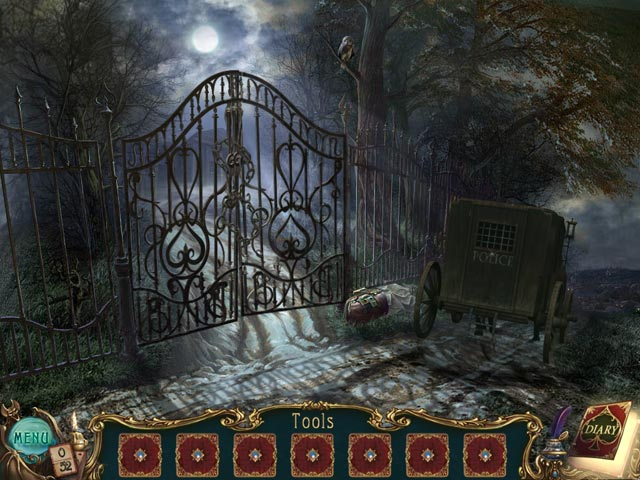 Haunted Legends: The Queen of Spades Collector's Edition Game screenshot 1