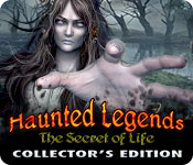 Free Haunted Legends: The Secret of Life Collector's Edition Game