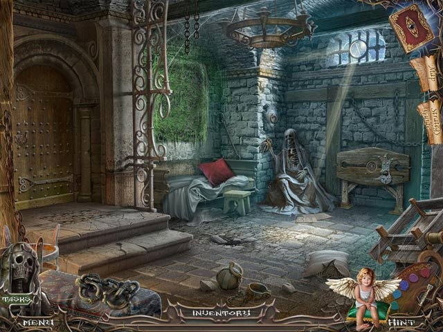 Haunted Manor: Painted Beauties Collector's Edition Game screenshot 2