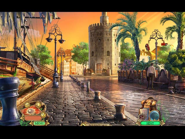 Hidden Expedition: The Fountain of Youth Game screenshot 1