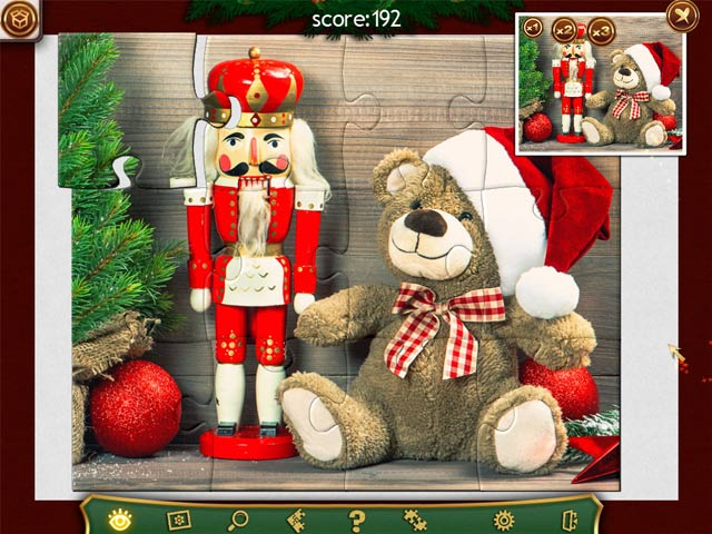 Holiday Jigsaw Christmas 2 Game screenshot 1