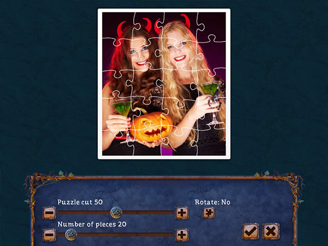 Holiday Jigsaw Halloween 4 Game screenshot 1