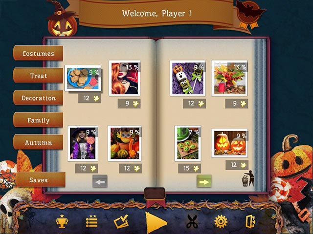 Holiday Jigsaw Halloween 4 Game screenshot 2