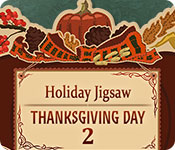 Free Holiday Jigsaw Thanksgiving Day 2 Game