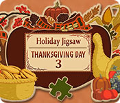 Free Holiday Jigsaw Thanksgiving Day 3 Game