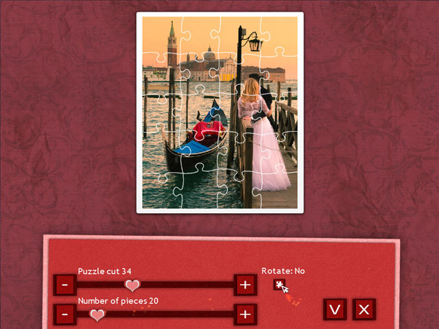 Holiday Jigsaw Valentine's Day 2 Game screenshot 2