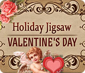Free Holiday Jigsaw Valentine's Day Game
