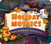 Free Holiday Mosaics Halloween Puzzles Game