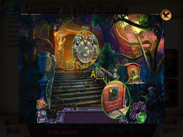 House of 1000 Doors: Evil Inside Strategy Guide Game screenshot 2
