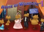 Free House of Wonders: Kitty Kat Wedding Game
