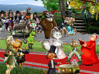 House of Wonders: Kitty Kat Wedding Game screenshot 1