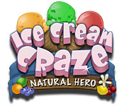Free Ice Cream Craze: Natural Hero Game