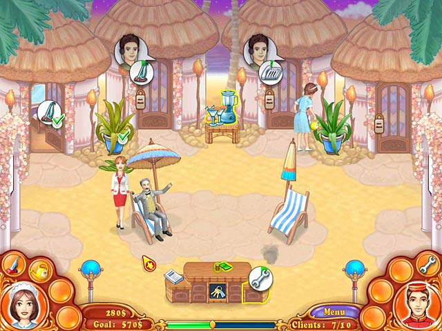 Jane's Hotel: Family Hero Game screenshot 1