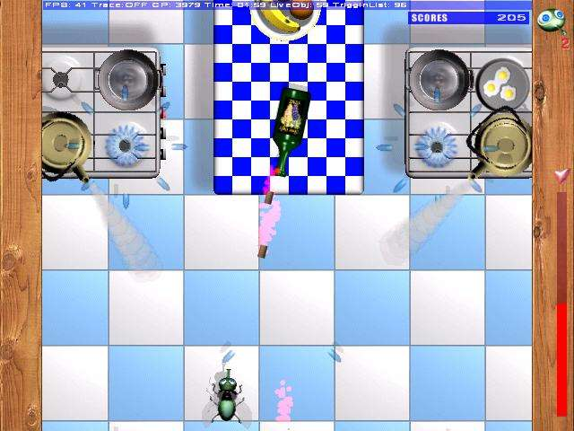 Jay The Danger Fly Game screenshot 1