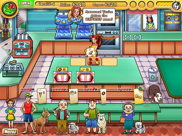 Jessica's BowWow Bistro Game screenshot 1