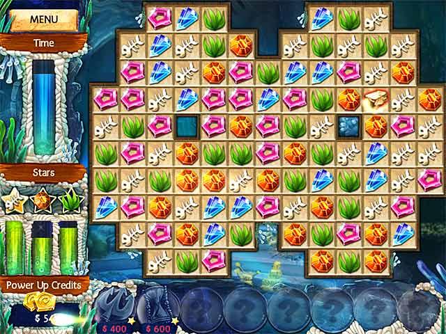 Jewel Legends: Atlantis Game screenshot 1