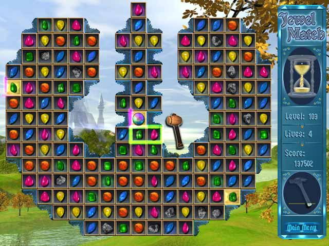 Jewel Match Game screenshot 1