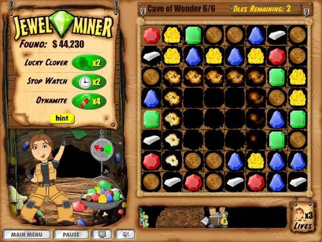 Jewel Miner Game screenshot 3
