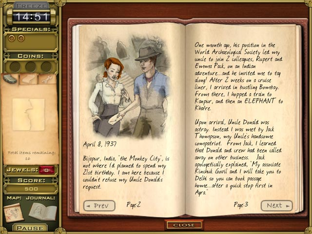 Jewel Quest Mysteries: Trail of the Midnight Heart Game screenshot 2