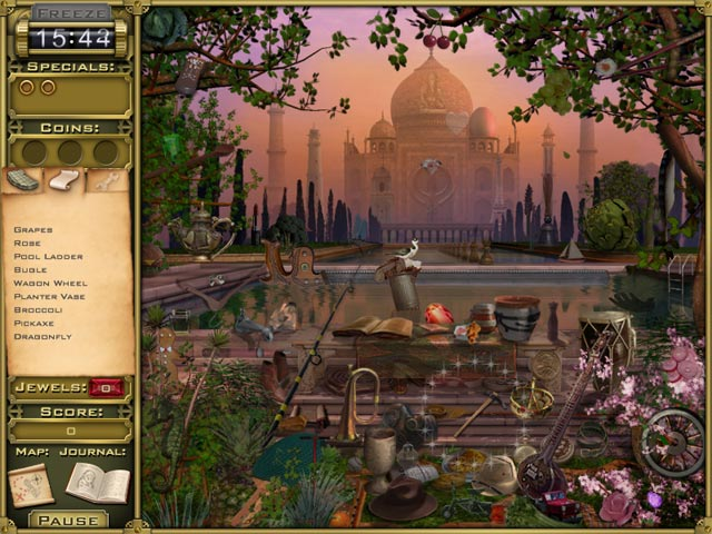 Jewel Quest Mysteries: Trail of the Midnight Heart Game screenshot 3