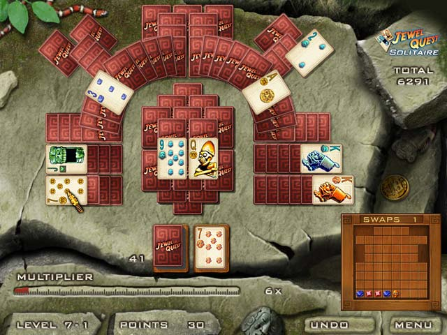 Jewel Quest Solitaire Game screenshot 3