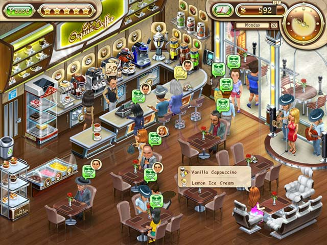 Jo's Dream: Organic Coffee Game screenshot 1