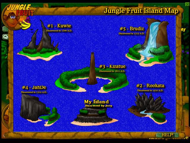 Jungle Fruit Game screenshot 2