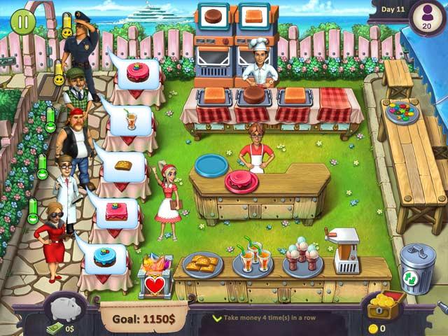 Katy and Bob: Cake Cafe Collector's Edition Game screenshot 1