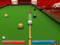 Kick Shot Pool Game screenshot 1