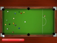 Kick Shot Pool Game screenshot 2