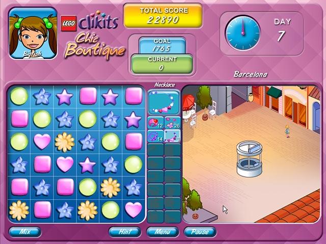 LEGO Chic Boutique Game screenshot 3