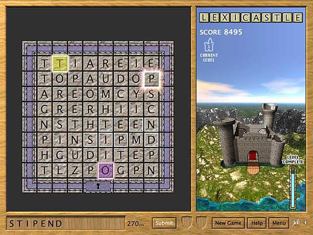 LexiCastle Game screenshot 3