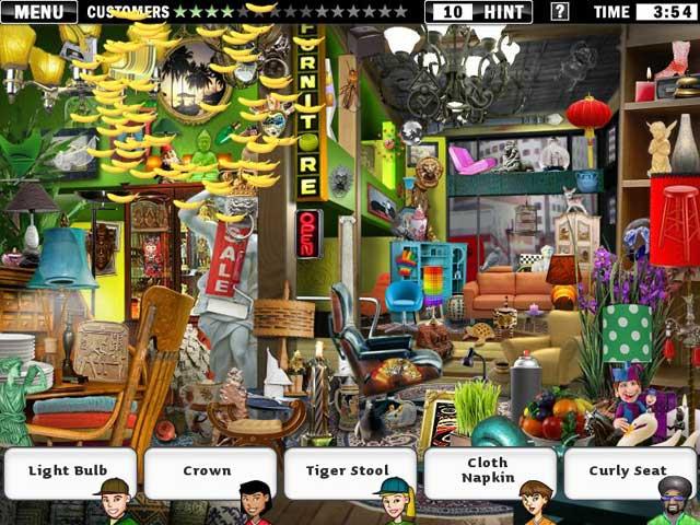 Little Shop Big City Game screenshot 1