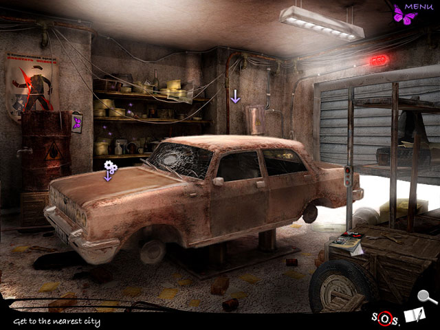 Lost in the City: Post Scriptum Game screenshot 2